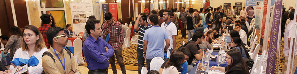 Scholarships at the 2017 SI-UK University Fair Mumbai.