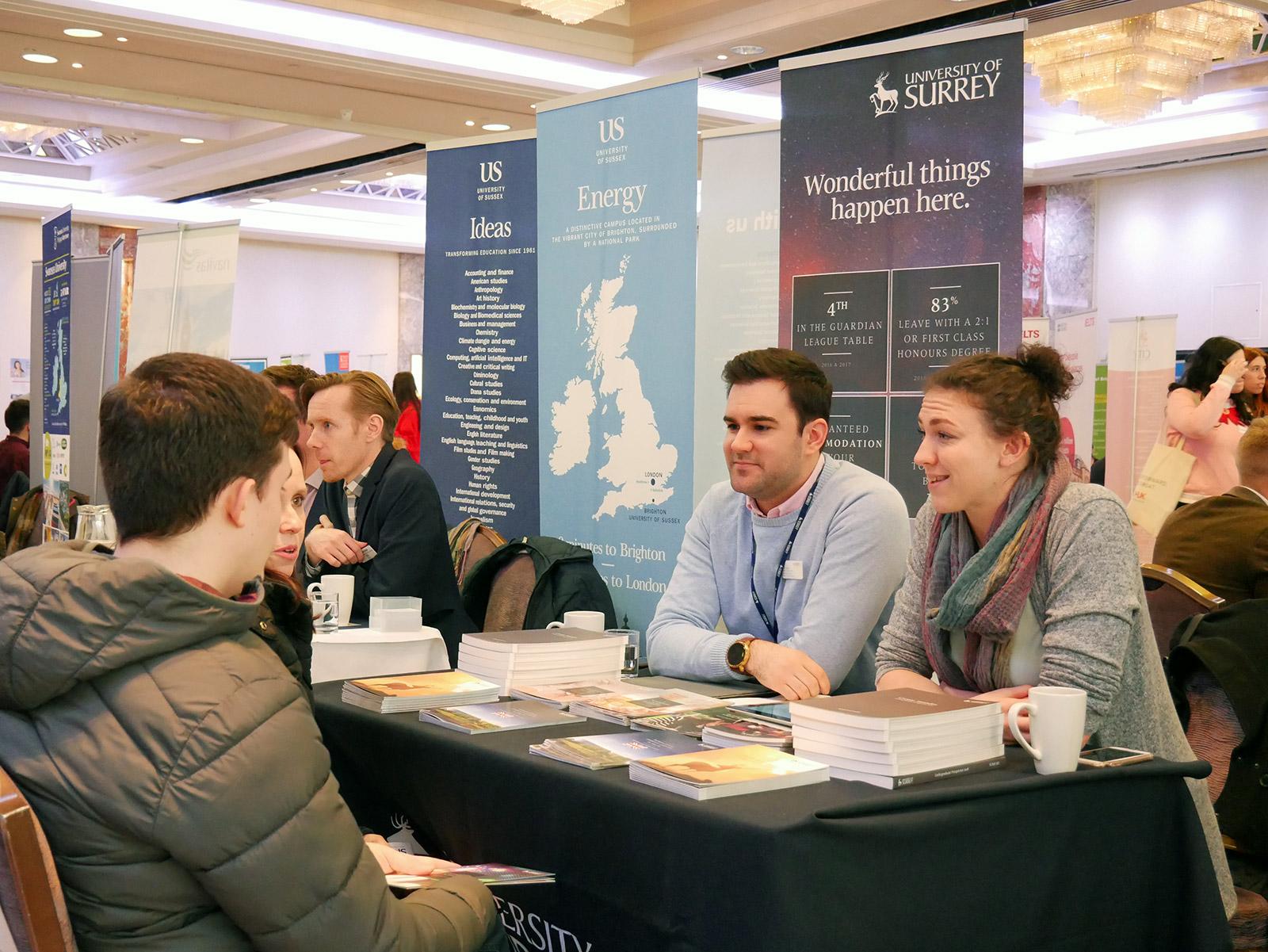 UK University Fair 2015